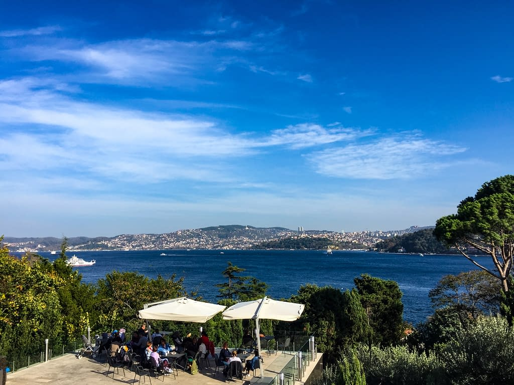 Sakıp Sabancı Museum (Sakıp Sabancı Müzesi) is a private fine arts museum on the European side of the Istanbul. Here you can also enjoy the restaurant, cafe, beautiful garden and the terrace with the stunning view of the Bosphorus Strait.