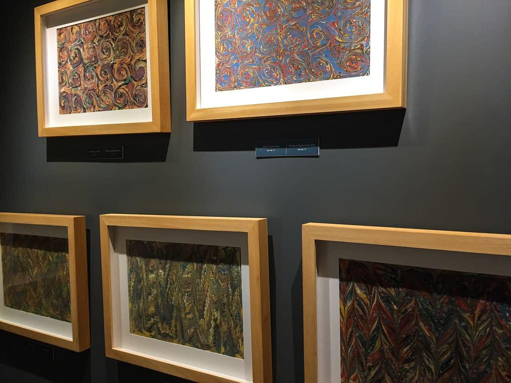 Galata Mevlevi-museon turkkilaista kalligrafista taidetta Istanbulissa.