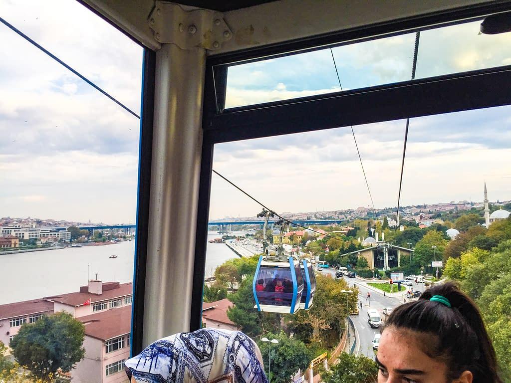 Istanbulin köysirata, Pierre Loti -kukkula (TF2 Eyüp – Piyerloti teleferik hattı).