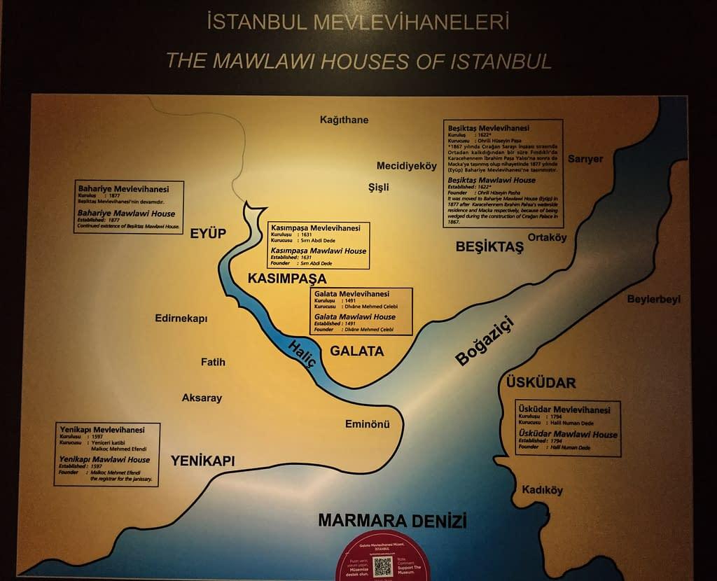 The Mawlawi Houses of Istanbul.